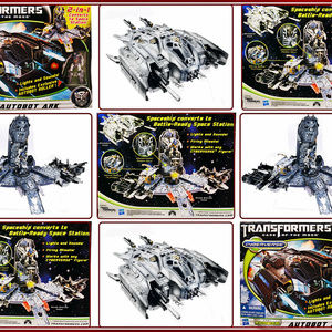 Transformers Autobot Ark w/ Autobot Roller Dark of